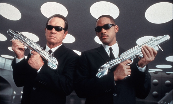Men in Black … not so far from the truth, according to Mirage Makers.