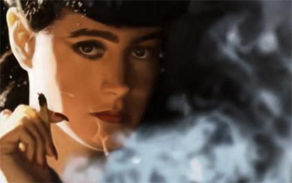 Blade_Runner_Sean_Young_smoke
